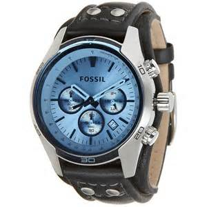 Fossil-blue-dial