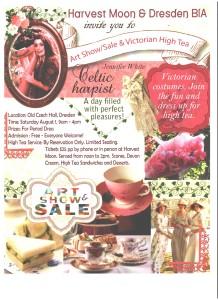 Art Show/Sale & High Tea @ Old Czech Hall | Dresden | Ontario | Canada