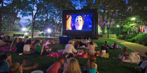 FREE Outdoor Big Screen Movie @ Kinsmen Park  | Dresden | Ontario | Canada