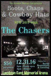 Boots, Chaps & Cowboy Hats NYE 2017 @ Dresden Arena | Dresden | Ontario | Canada