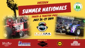 Dresden Summer Nationals Truck & Tractor Pull @ Dresden Raceway Grandstands