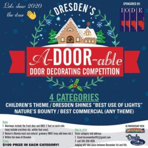 Dresden Shines: A-DOOR-ABLE Door Decorating Competition