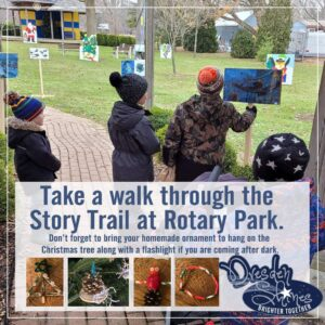 Christmas Story Book Trail @ Rotary Park